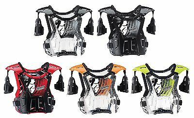 2016 Thor Quadrant Adult Chest  Protector MX ATV Offroad Roost Guard