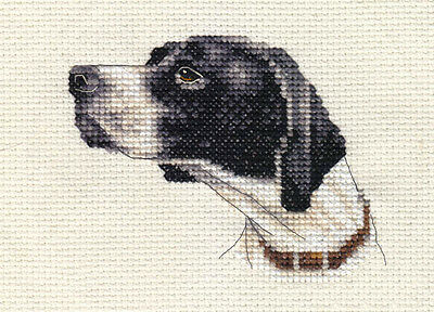 POINTER dog, puppy ~ Full cross stitch kit, all materials *Fido Stitch Studio