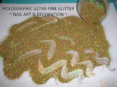 Holographic Cosmetic Ultra Fine Glitter  ~ Nail Art & Decoration ~ Makeup ~ Body