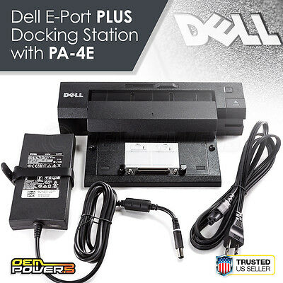 DELL Latitude E5400 E5500 E6220 E6320 E-PORT PLUS Dock Replicator Station + 130W