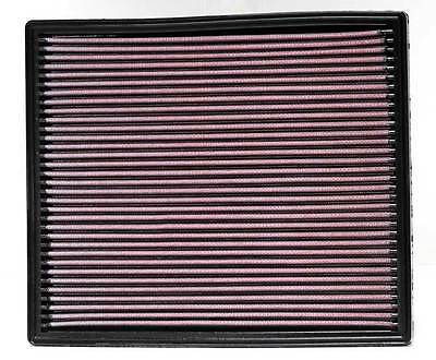 K&N Air Filter Element 33-2139 (Performance Replacement Panel Air Filter)