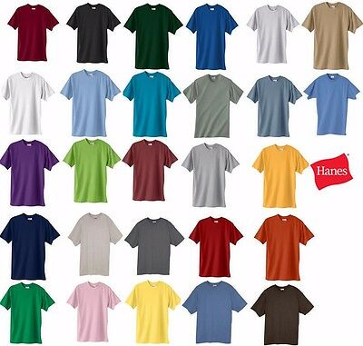 Hanes Beefy-T TALL  T-Shirt 100% Cotton  518T Mens LT XLT 2XLT 3XLT 4XLT