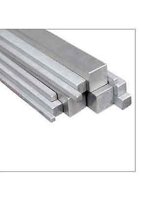 Stainless Steel Square Bar 304 12mm, 16mm, 20mm, 25mm. Various lengths available