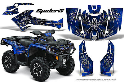 Can-Am Outlander 800 1000 R Xt 12-16 Graphics Kit Creatorx Decals Stickers Sxbl