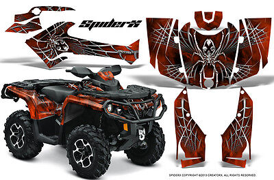 Can-Am Outlander 800 1000 R Xt 12-16 Graphics Kit Creatorx Decals Stickers Sxod
