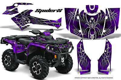 Can-Am Outlander 800 1000 R Xt 12-16 Graphics Kit Creatorx Decals Stickers Sxpr