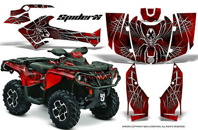 Can-Am Outlander 800 1000 R Xt 12-16 Graphics Kit Creatorx Decals Stickers Sxr