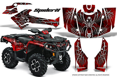 Can-Am Outlander 800 1000 R Xt 12-16 Graphics Kit Creatorx Decals Stickers Sxrb