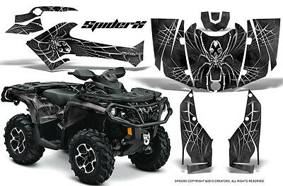 Can-Am Outlander 800 1000 R Xt 12-16 Graphics Kit Creatorx Decals Stickers Sxs