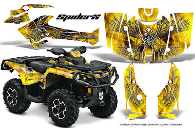 Can-Am Outlander 800 1000 R Xt 12-16 Graphics Kit Creatorx Decals Stickers Sxyb