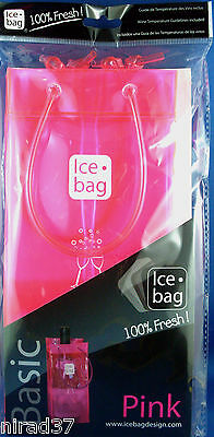 PINK ICE BAG French Designed Gift BAG WINE COOLER New & Sealed - In Australia