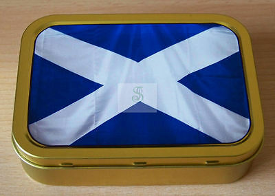 Scotland 1and 2oz Tobacco/Storage Tins