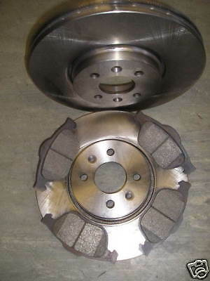 Renault Grand Scenic Front Brake Discs And Pads 1.5 1.6 1.9 2.0 (2005-2009)