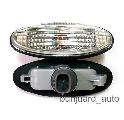 SIDE MARKER INDICATOR LIGHT REPEATER CRYSTAL CLEAR for MAZDA RX7 MX6 323 626