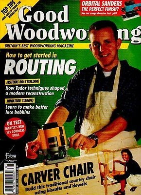 Good Woodworking Magazine January 1997 Issue 52 How To Get