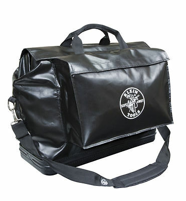 Klein Tools 5182BLA Large Black Vinyl Equipment Bag