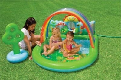 Intex 57421EP Countryside 3 in 1 Kids Water Play Center Pool w/ 6 Plastic Balls