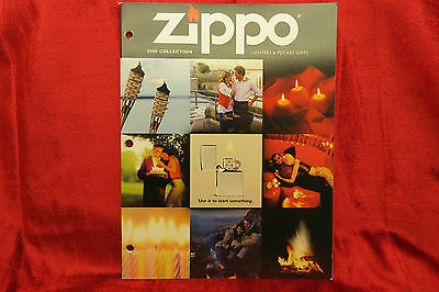 ZIPPO 2000   LIGHTER COLLECTION CATALOG BOOK (((( MINT CONDITION ))))