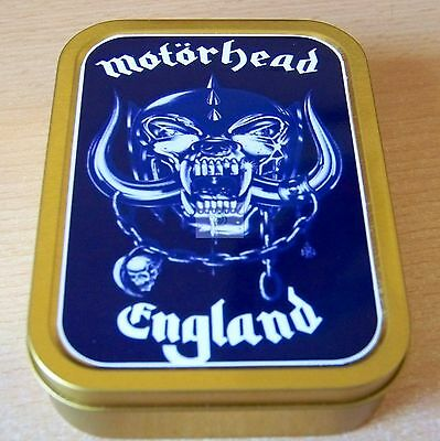 Motorhead 1 and 2oz Tobacco/Storage Tins