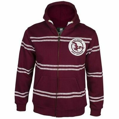 Manly Sea Eagles NRL Retro Heritage Hoodie Jacket 'Select Your Size' S-5XL BNWT