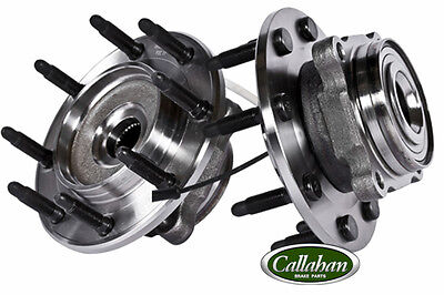 [FRONT] 2 NEW CALLAHAN LEFT/ RIGHT HUB BEARING ASSEMBLY CHEVY GMC 8 LUG 2WD