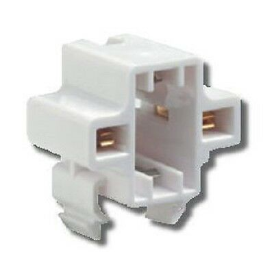 CFL Compact Fluorescent G23 G23-2 2-Pin 5 7 9W Horizontal Snap-In Socket 27148