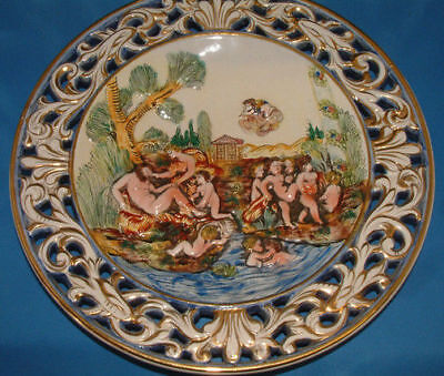 Plate Italian Nude Porcelain  Limited Edition 302 of 302