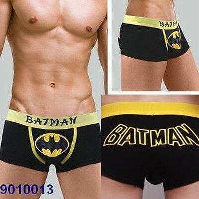 0f26f1c3b New Sexy Batman Costume Cartoon Comic Men Briefs/Boxers/Underwear Black M/L