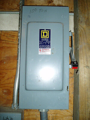 SQUARE D SQUARE-D Electrical Box Disconnect Switch Breaker -h363 2,8,11,15,16