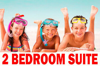 BEACH PALACE RESORT TWO BEDROOM FAMILY SUITE - UP TO 6 PEOPLE - VIP - CANCUN