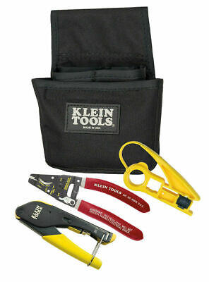 Klein Tools VDV012-811 Coax Installer Starter Kit for F-Connectors