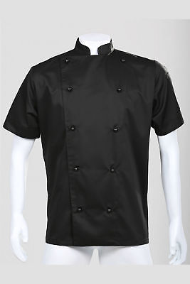 On Sale!! Traditional Chef Jacket Luxurious Material, Short Sleeve / Long Sleeve