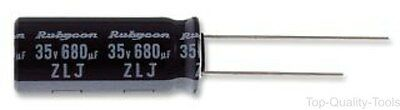 Electrolytic Capacitor, Miniature, 220 µF, 100 V, ZLJ Series, ± 20%, Radial Lead
