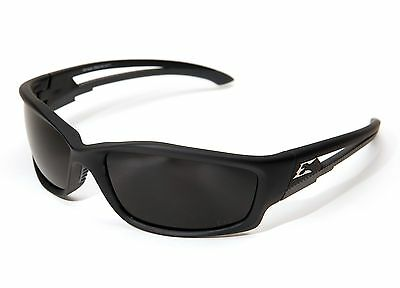 Edge Kazbek POLARIZED Smoke Lens Safety Sun Glasses TSK216 w/ POUCH Motorcycle