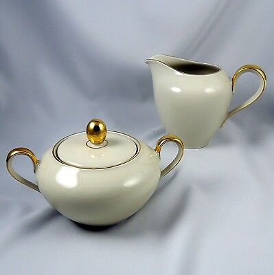 Mitterteich Bavaria ~ Germany ~ Creamer & Sugar Set