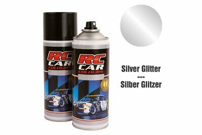 RC Car Colours - Lexan Spray Silber Glitter 150ml (6.60 Euro pro 100 ml)