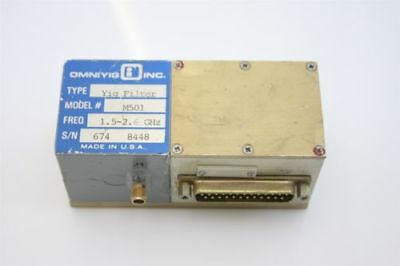 Microwave RF Yig Filter 1.5-2.6 GHz  + D-to-A Converter