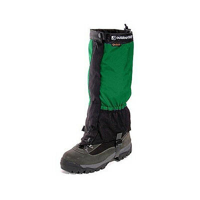 Outdoor Designs Green Perma Gaiters Small - Front Zip Closure, Event Fabric