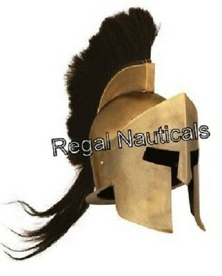 Spartan King Leonidas 300 Movie Helmet Replica for larp role plays cosplays prop