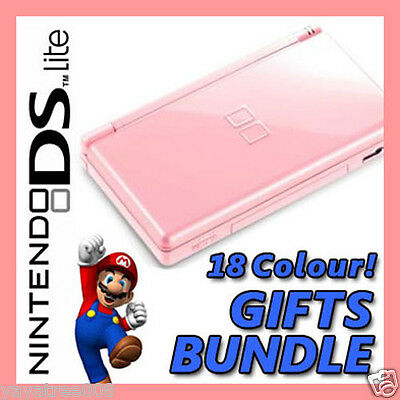BRAND NEW [CORAL PINK] Nintendo DS Lite NDSL Game Console System NOT DSi