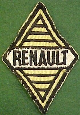 Renault on Yellow Twill Patch