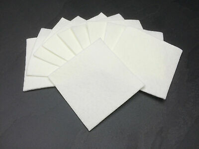 10 pack Aquarium Cleaning Pads for glass, Acryic, plastic and biorb fish tanks.