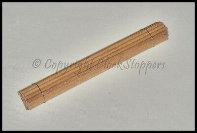 Pegwood 3mm for Cleaning Clock Pivots Wheels Servicing Repair Orange Peg Wood