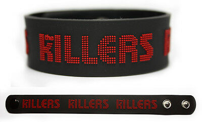 THE KILLERS Rubber Bracelet Wristband Battle Born Red