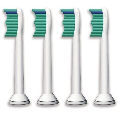 SONICARE x 4 TOOTHBRUSH HEADS COMPATIBLE WITH PHILIPS HX6013 HX6011 HX6014