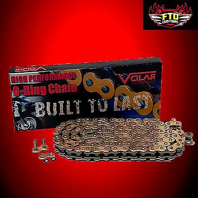 GSXR 1000 Gold chain,   150 link-530 O-Ring Chain For  Swingarm Extensions