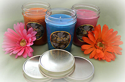 American Made Hand Poured Highly Scented Soy Candles 3 Packed 8oz Free Shipping
