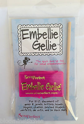 The Bead Smith Embellie Gellie The quick pick up tool for small embellishments.