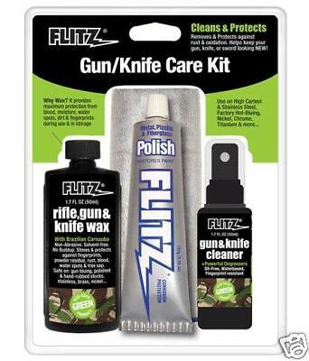 FLITZ Gun & Knife Care Tool Kit *clean polish & protect