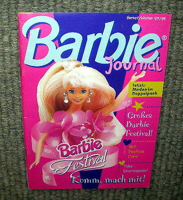Oude Barbie catalogus in de duitse taal - 1997-98 - 63 pagina's